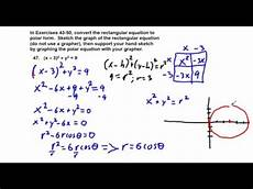 precalculus chapter 6 4 exercises 43 52 convert