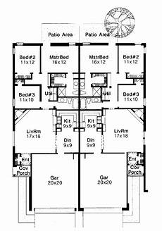multi family house plans duplex traditional style multi family plan 92222 with 6 bed 4