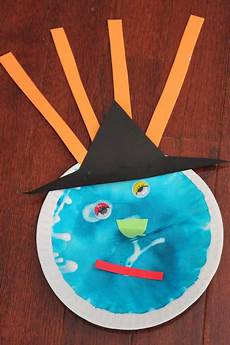 toddler approved witch themed preschool crafts