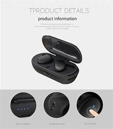 Truly Wireless Mini Dual Bluetooth Earphones by Truly Wireless Mini Stealth Stereo Wireless Bluetooth