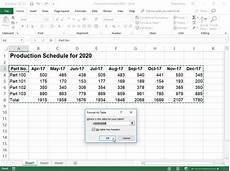 excel 2019 formatting using the format as table gallery dummies