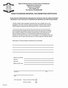 form htdt exemption fillable to dispose material tax exemption certificate