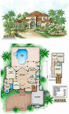 mediterranean house plans with pool mediterranean house plan 2 story coastal mediterranean