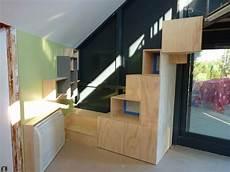 escalier pas japonais 7168 etage le feel du bois