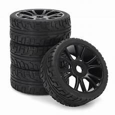 pneu et jante tempsa 4pcs 17mm caoutchouc jante de roue pneus dur