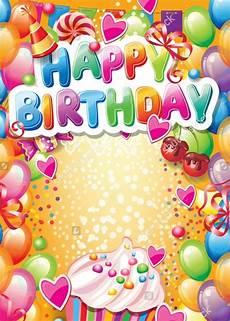 free birthday card templates to 21 birthday card templates psd vector eps jpg
