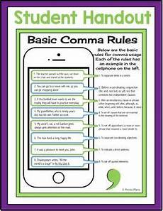 punctuation worksheets high school with answers 20785 comma free handout and activity free activities text messages teaching