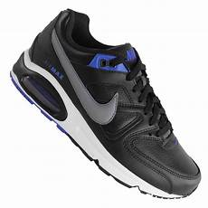 nike air max command leather 409998 024 black grey cobalt