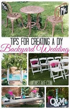 tips for a diy backyard wedding a mom s take