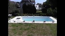 pool selber bauen poolabdeckung selber bauen schnell und g 252 nstig how to