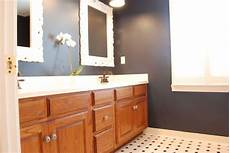 Bathroom Ideas With Oak Cabinets by Sweet Chaos Painting Oak Cabinets For The Home In 2019