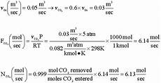 what is the volume of a mole of carbon dioxide gas
