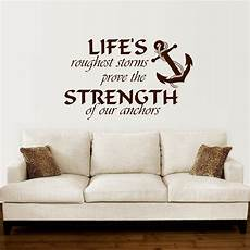 wall sticker decal quotes anchor wall decal quotes nautical sayings wall vinyl
