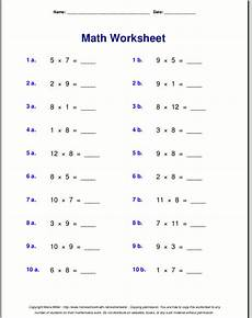 multiplication worksheets up to 9 4629 multiplication worksheets for grade 3
