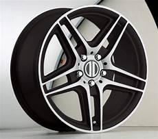 17 inch mercedes oe replica black wheels rims 5x112 50 ebay