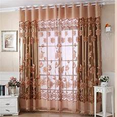 2019 Luxury With Dangle Floral Curtain Window
