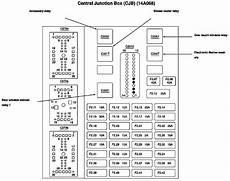 ford taurus fuse box diagram 1997 i need the fuse box diagram for 2003 ford taurus the power windows are not working
