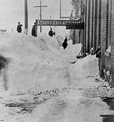ca 1899 gentleman in a snow tunnel after a via