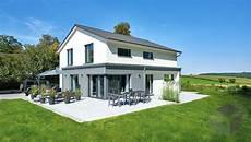 einfamilienhaus haus faber fertighaus weiss