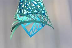 abat jour en papier nest diy paper cut ls in our home