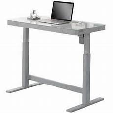 tresanti adjustable height desk led touch control new free shipping ebay