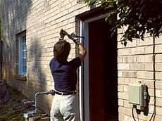 how to install a pre hung exterior door how tos diy