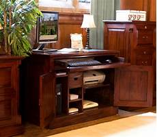 hidden home office furniture la roque solid mahogany furniture hidden home office