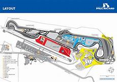 Circuit Automobile Paul Ricard Circuit Paul Ricard Layout The Site Of The Alleged 2018