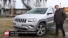 Jeep Grand Flexfuel Essai 2015 Complet Automoto