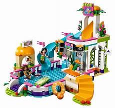 lego friends 41313 pas cher la piscine d heartlake city