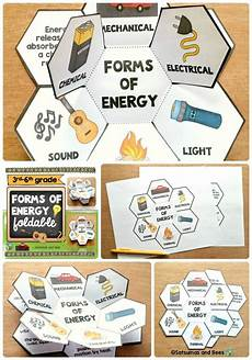 forms of energy interactive science notebook foldables students group and science notebooks