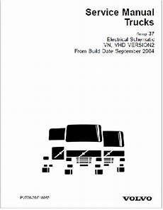 sept 2004 up volvo vn vhd truck complete electrical wiring diagrams