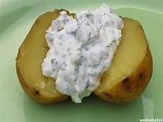 wesfood folienkartoffel mit kr 228 uterquark