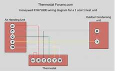 programmable thermostat wiring diagram honeywell rth7500d 7 day programmable thermostat