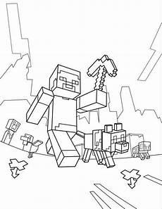 kostenlose malvorlagen minecraft ausmalbilder minecraft steve e1550718142543 minecraft