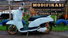 Modifikasi Scoopy 2019 by Modifikasi Babylook Style Honda Scoopy I Terbaru 2019