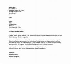 39 simple resignation letter templates pdf doc how to write a resignation letter letter
