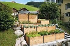 Terraced Raised Bed Garten Ideen Hochbeet Und Garten