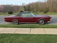 1969 Lincoln Continental Mark III Royal Maroon & White