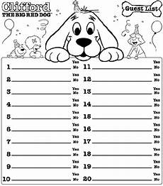 birthday guest worksheet 20227 7 guest list templates excel pdf formats