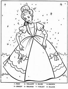 color by number princess coloring pages 18139 color by number cinderella vintage coloring books cinderella coloring pages stitch coloring