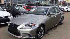 new 2015 lexus is 250 sdn auto awd f sport series 3 review in atomic silver west edmonton
