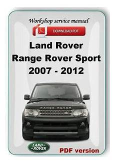 free service manuals online 2007 land rover range rover engine control landrover range rover sport 2007 2008 2009 2010 2011 2012 factory service manual ebay