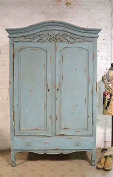 Armoire Painted Cottage Chic Shabby