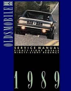 free online auto service manuals 1998 oldsmobile regency on board diagnostic system 1989 oldsmobile 98 regency 88 shop service repair manual ebay