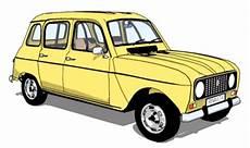 Der Renault 4 Auf Dem