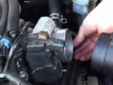 Thorough Throttle Body Cleaning  Ex Chevy Impala YouTube