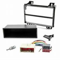 radio bezel set for ford mk6 jh1 jd3 fusion din