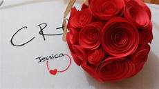 diy paper rose diy wedding bouquet youtube