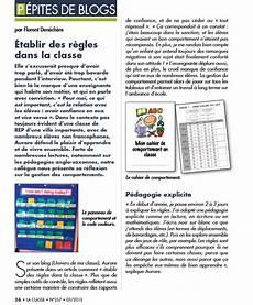 L Univers De Ma Classe Article Dans Le Magazine La Classe